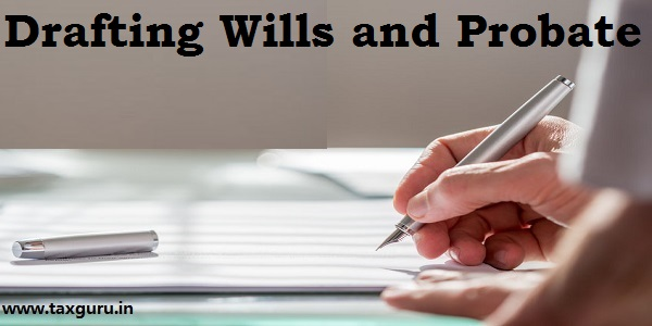 Drafting Wills and Probate