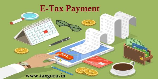 E-Tax Payment