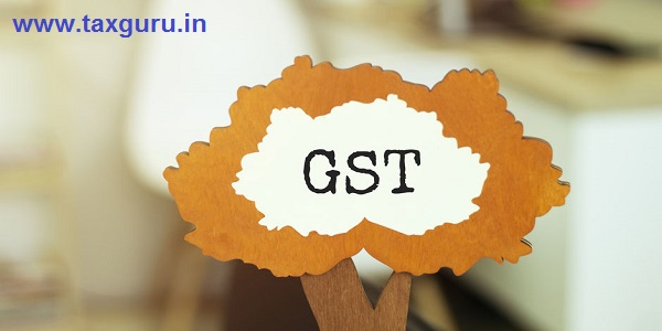 Figure of a tree with text GST Goods & Services Tax