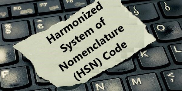 Harmonized System of Nomenclature (HSN) Code