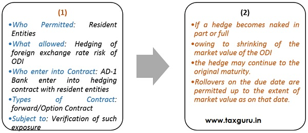 Hedging of overseas direct investments