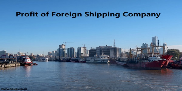 Profit of Foreign Shipping Company