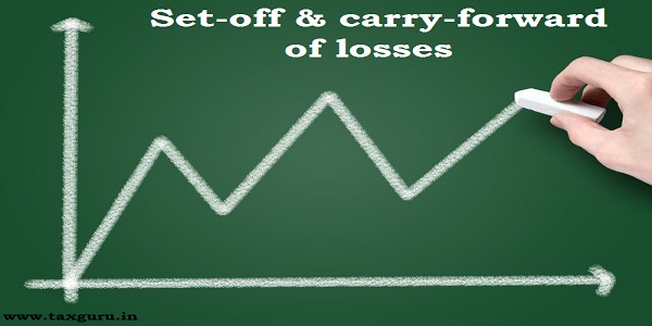 Set off carry forward of losses