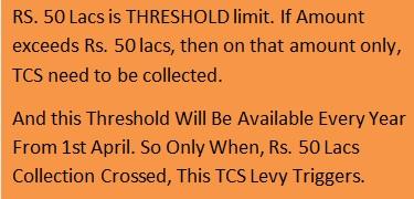 TCS need