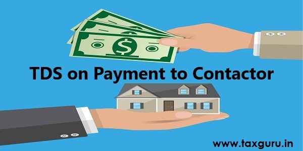 TDS on Payment to Contractor