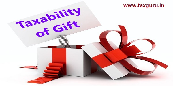 Taxability of Gift