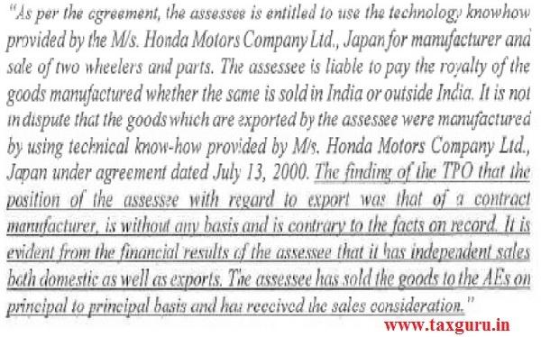 case in ITA No.132 Del 2013 held as under