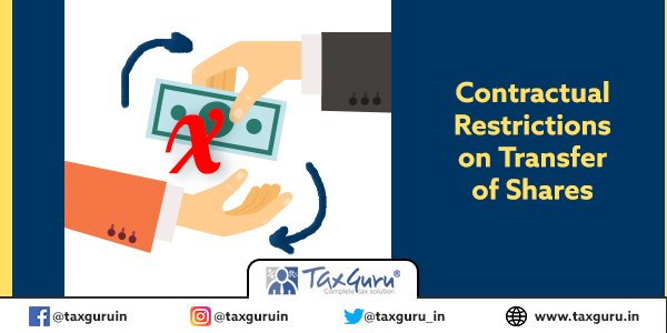 Contractual Restrictions on Transfer of Shares