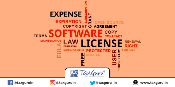 EXPENSE ON LICENCE RENEWAL OF SOFTWARE