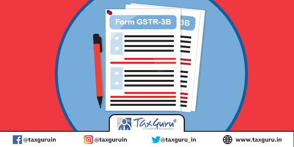 Form GSTR-3B
