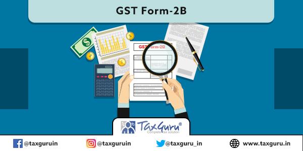 GST Form-2B