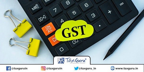 GST (Good & service tax)