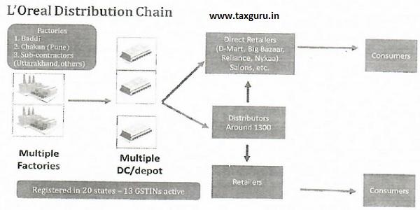 L'Oreal Distribution Chain