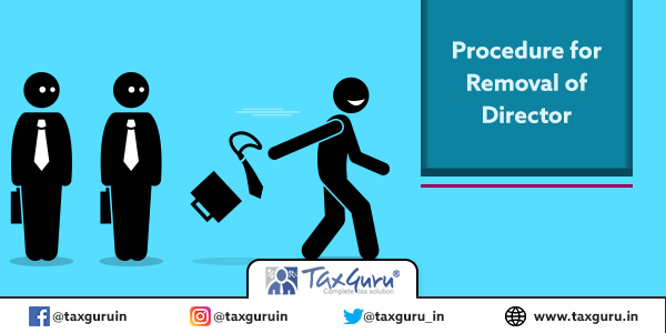 Procedure for Removal of Director