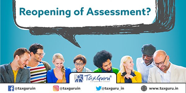 Reopening of Assessment