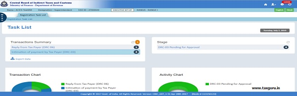Step1-Superintendent login with SSOID and select task