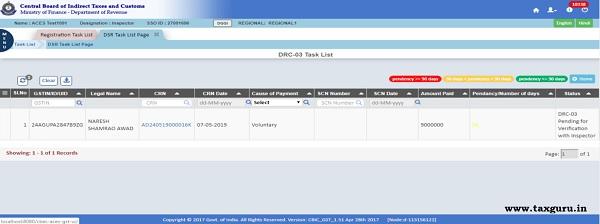 Step12-Select CRN hyperlink