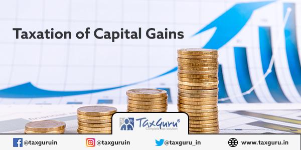 Taxation of Capital Gain