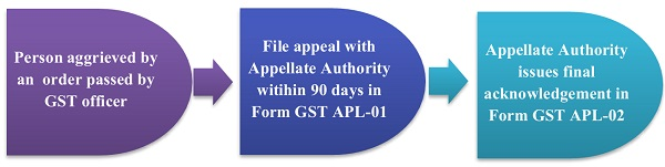 What is the manner of filing an appeal to the Appellate Authority