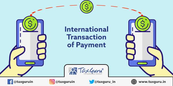 International Transaction of Payment