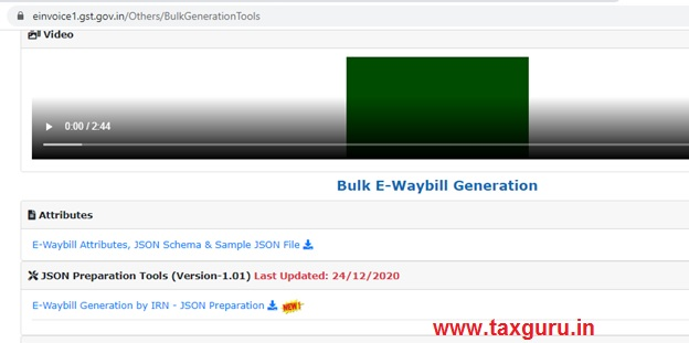 Bulk Generation of e-way bill image 3