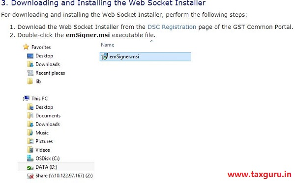Emsigner Error in GST Image 5