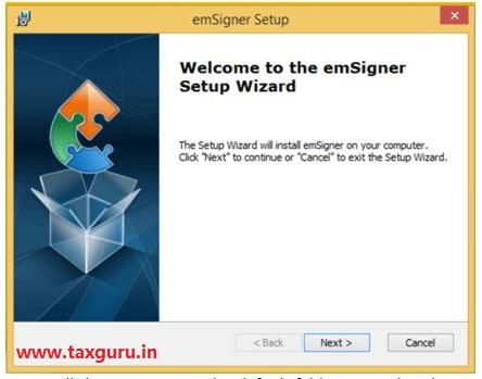 Emsigner Error in GST Image 6