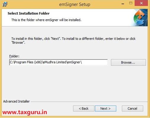 Emsigner Error in GST Image 8