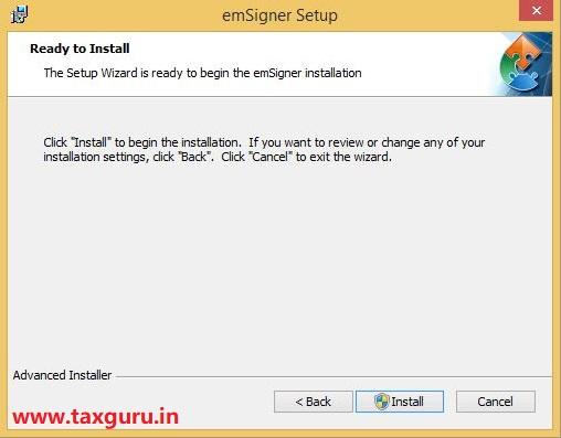 Emsigner Error in GST Image 9
