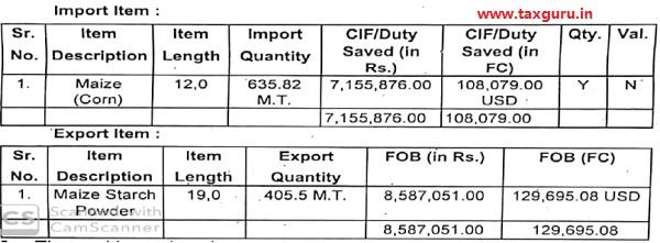 Import & Export Item