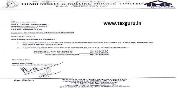 Lhaki Steels and Rolling Pvt. Ltd.