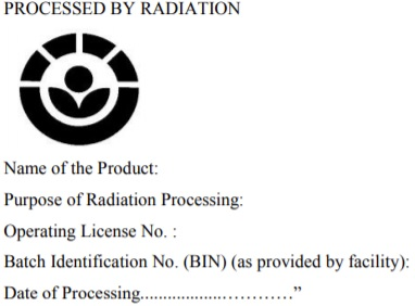 Processed by Radiation