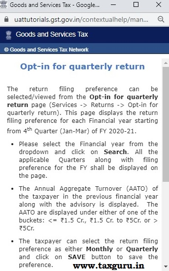 Quarterly Return and Monthly Payments (QRMP) Scheme Image 5