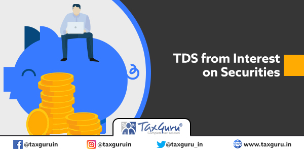 TDS from Interest on Securities