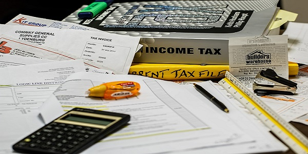 income tax calculation calculate paperwork tax