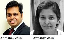 Abhishek Jain and Anushka Jain