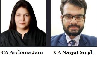 CA Archana Jain & CA Navjot Singh