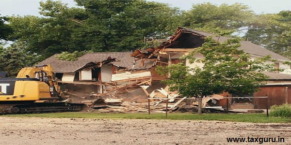 Demolition of Illegal Farmhouses In Aravalli Area In Gurugram
