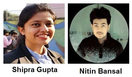 Shipra Gupta & Nitin Bansal