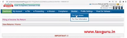 Step by step procedure to submit refund response Image 1