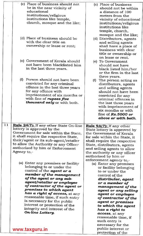 The Kerala Kerala State Lotteries & Online Lotteries (Regulation) Rules, 2003 Vs The Kerala Paper Lotteries (Regulat Ion) Amendment Rules, 2018 Image 5