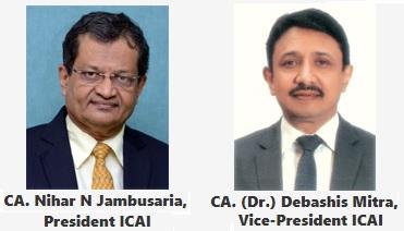 CA. Nihar N Jambusaria & CA. (Dr.) Debashis Mitra