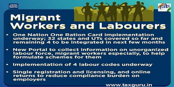 Migrant workers and labourers
