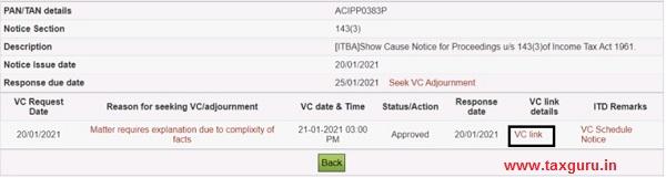 Seek VC & Seek VC adjournment Image 10