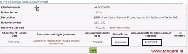 Seek VC & Seek VC adjournment Image 18