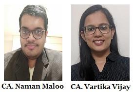 CA. Naman Maloo & CA. Vartika Vijay