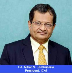 CA. Nihar N. Jambusaria - President ICAI