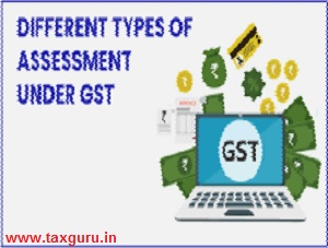 Different types of Assessment under GST
