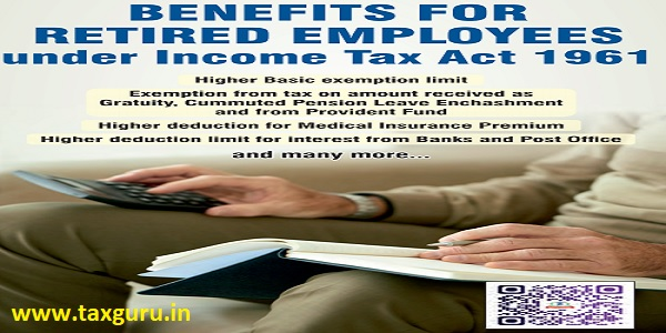 Benefits for Retired Employees under Income Tax Act 1961 Image 4