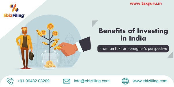 Benefits of Investing in India